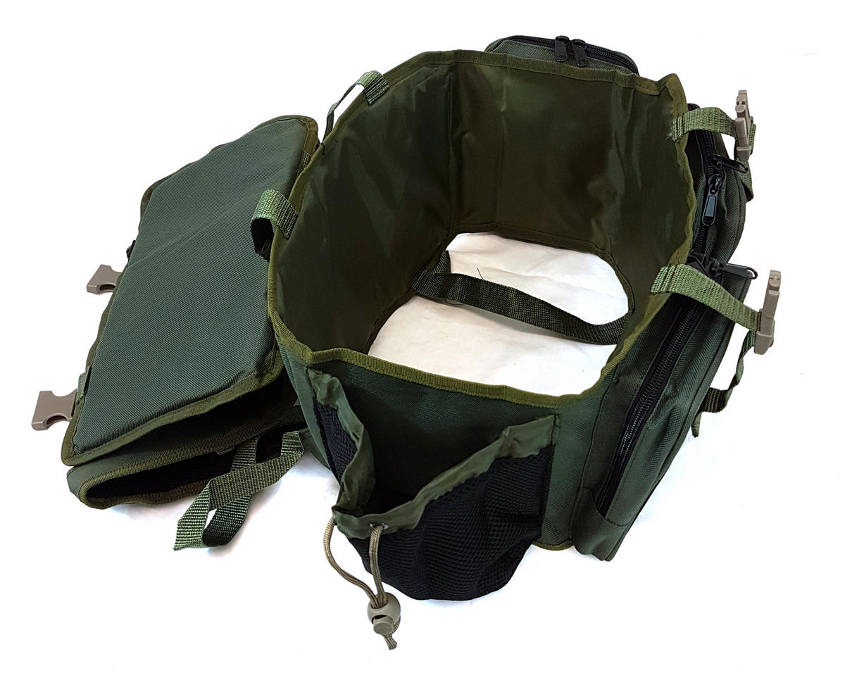 SEAT BOX BACK PACK BACKREST SHERPA CONVERSION FOR ROVING TYPE SEATBOX