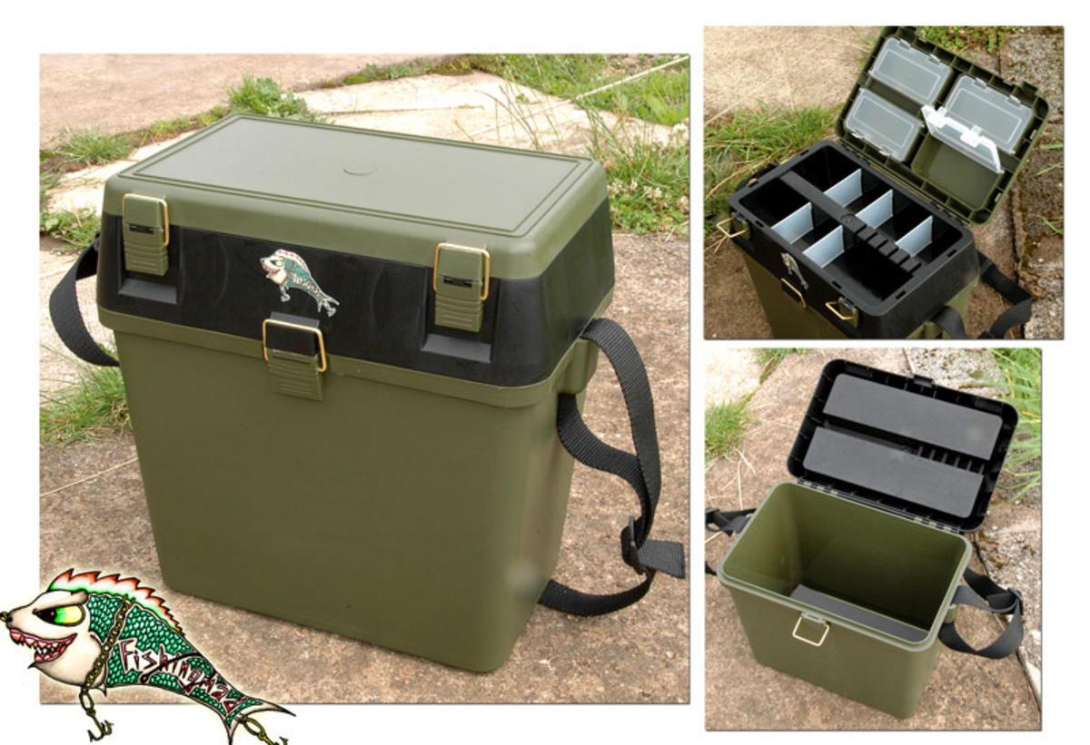 New seatbox fishingmad fishing tackle roving seat box for Fishing tackle box