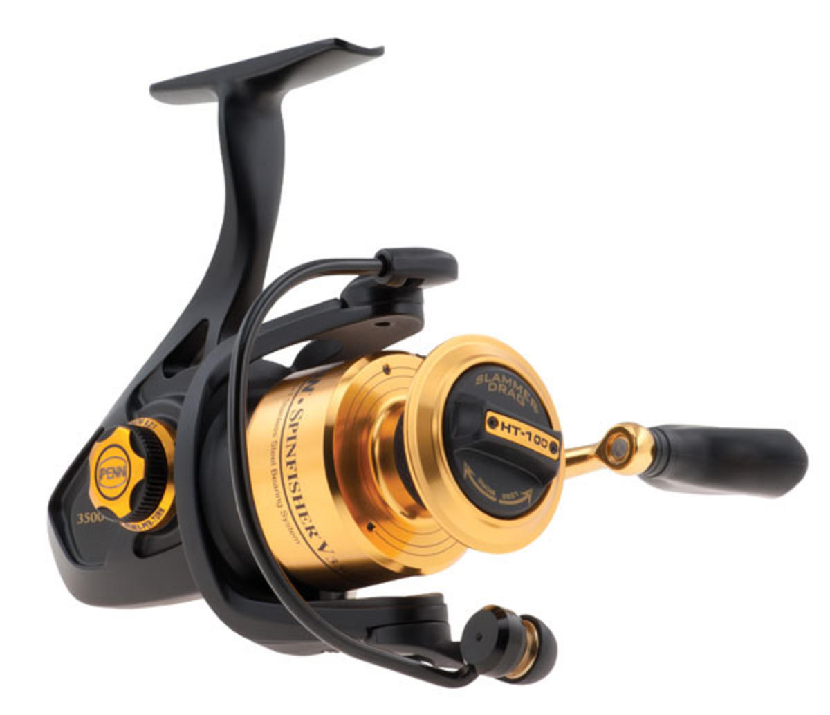 NEW PENN SPINFISHER SSV 3500 SALTWATER SPINNING FISHING REEL SSV3500 1259869