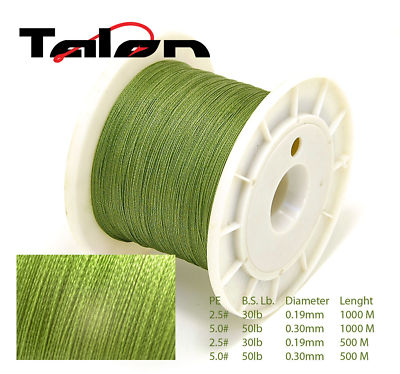500M TALON DYNEEMA BRAIDED 80LB FISHING LINE FROM UK
