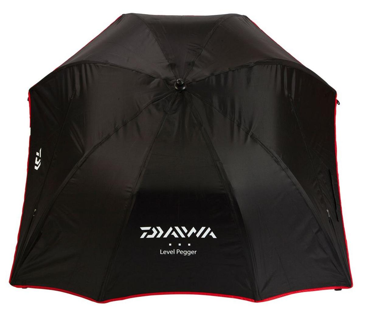 "New Team Daiwa Level Pegger M3 125cm/50"" Fishing Brolly / Umbrella -TDL3"