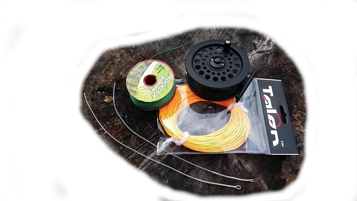Fly reel fly line backing and loops fly fishing mad for Fly fishing backing