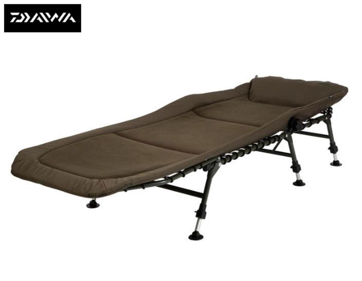 Clearance Daiwa Mission Deluxe 6 Leg Bedchair - DMDBC1