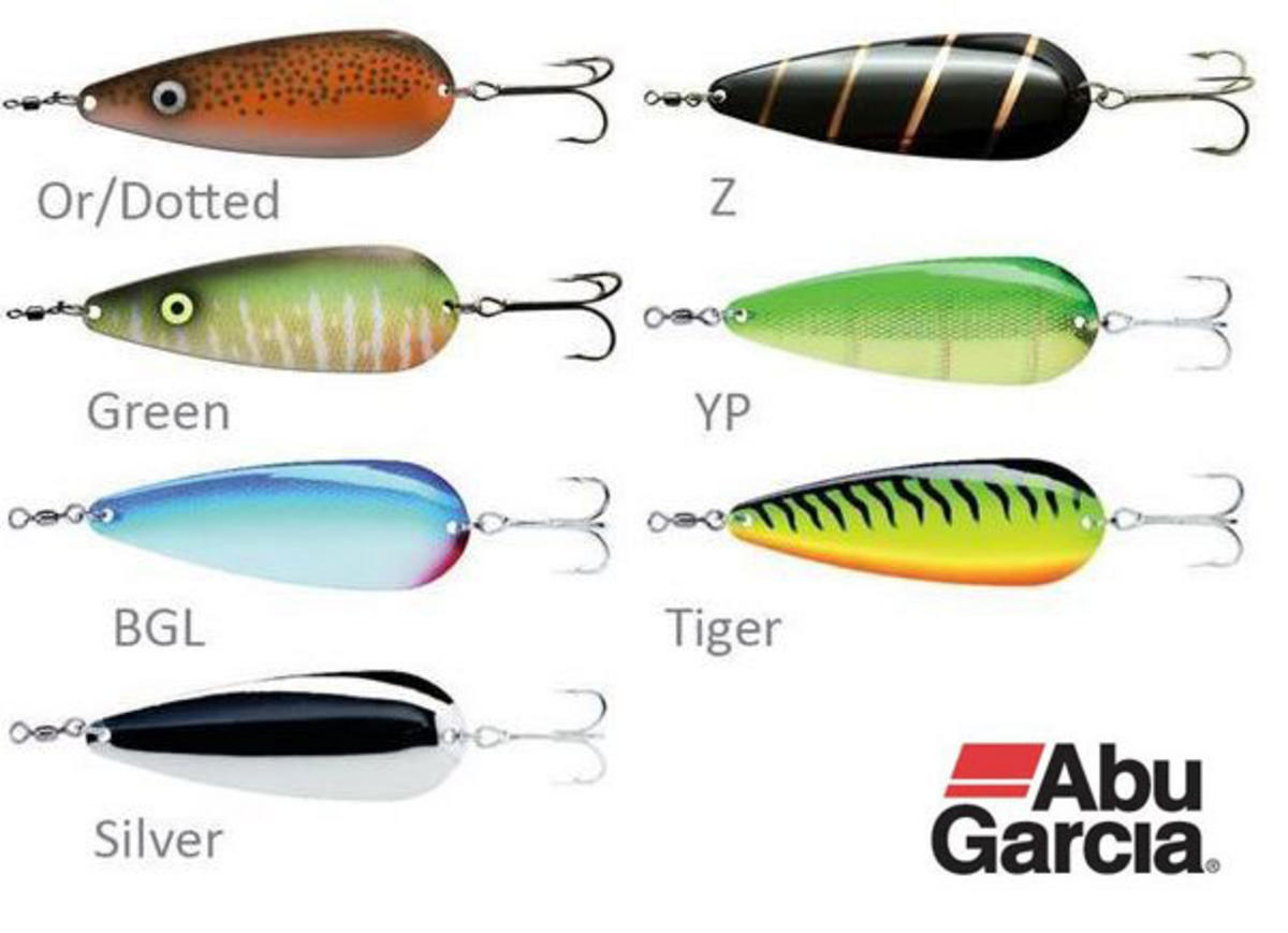 Abu Garcia Pike Spoon Fishing Lure 40gram All Colours