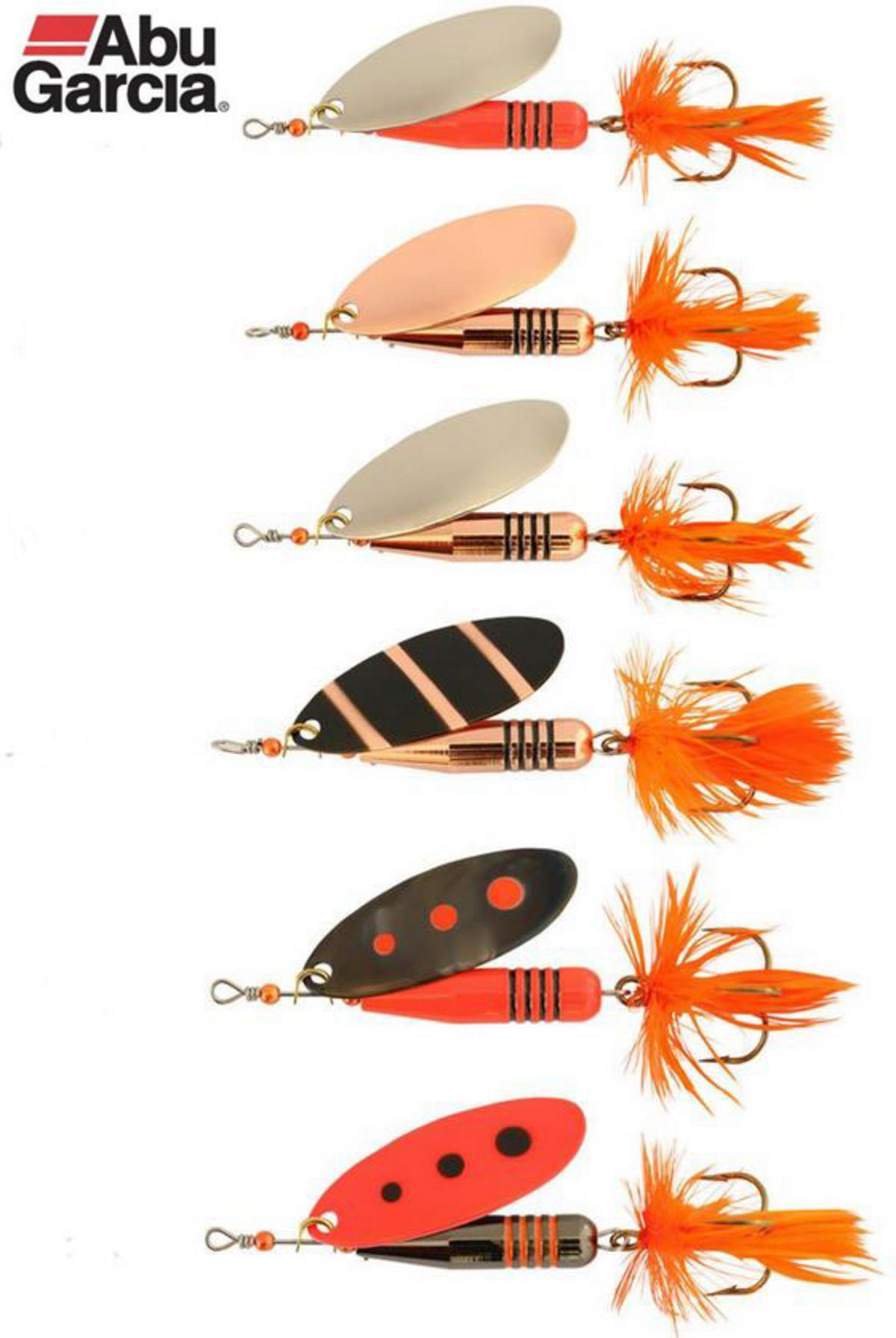 New Abu Garcia Zixten Spinner Lures 7gram - 15gram All Colours