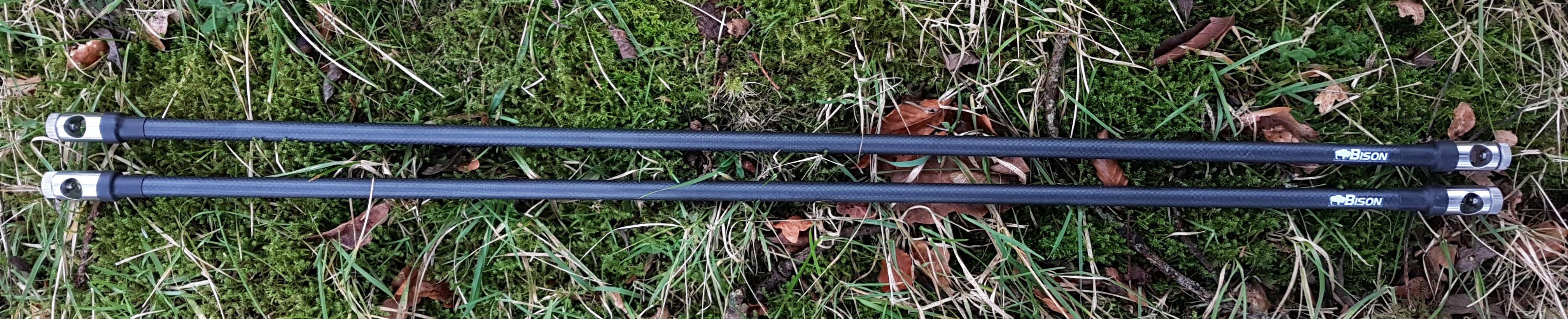 Nouveau en acier inoxydable Bankstick stabilisateur banque stick stabiliser rodpod supports à cannes