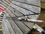"DAIWA SWEEPFIRE SWC662MFS 6'6"" 2 PC SPIN ROD SPECIAL CLEARANCE OFFER"