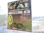 GAMAKATSU A1 G-CARP CAMOUGREEN SUPER SIZE 8 GC204G-8 SPECIAL HALF PRICE OFFER