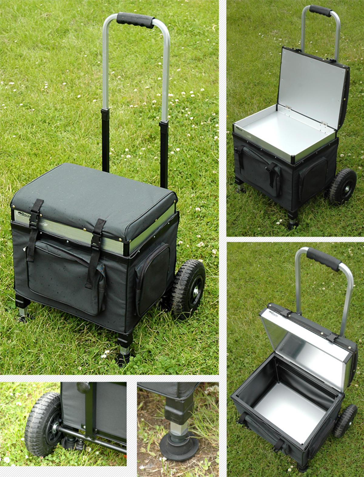 DOG CAT PET HORSE EQUESTRIAN GROOMING TROLLEY SEAT BOX