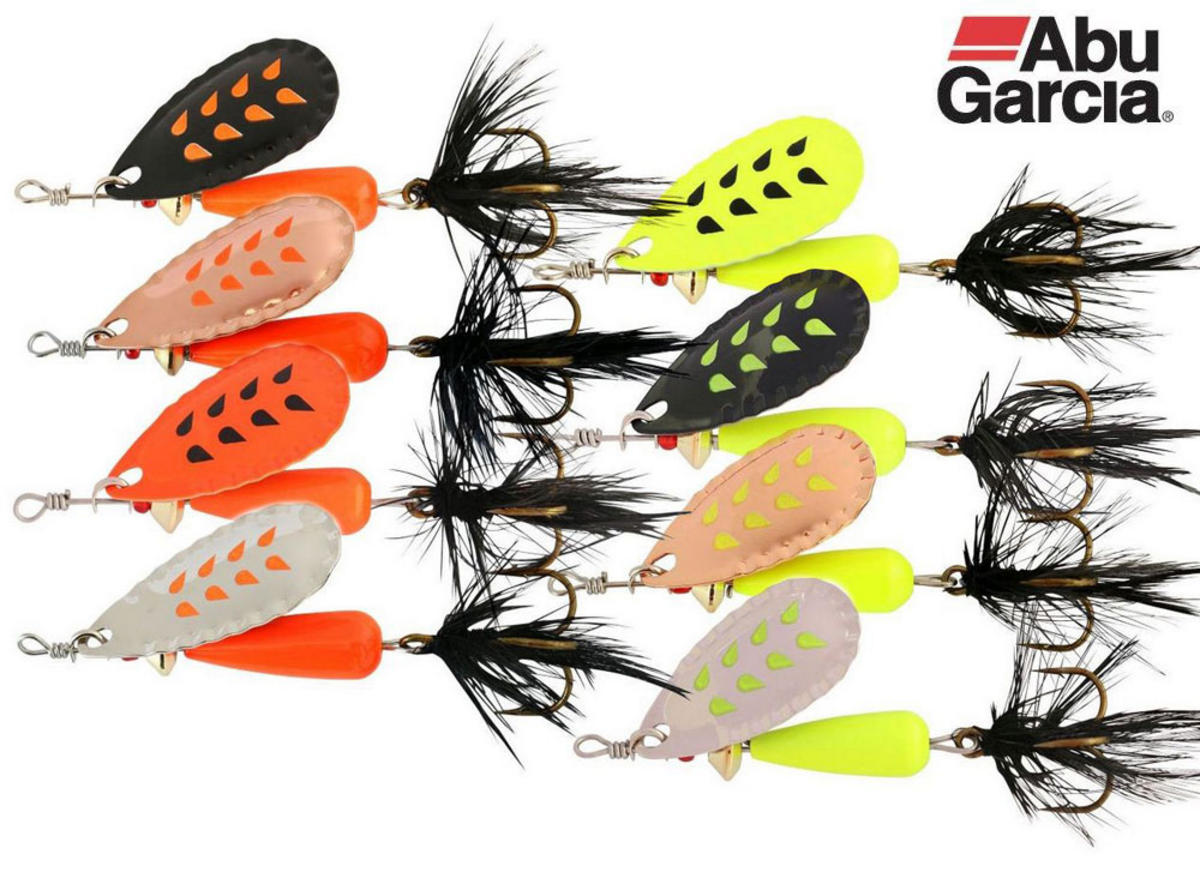 Abu Garcia Droppen Fluo Spinner Lures 8g 12g All Colours