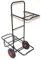 BISON FOLDING FISHING SEAT BOX TROLLEY ,choice of 3 models