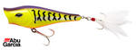Abu Garcia Rocket Popper Pike Bass Lure 9cm Tiger 1210196