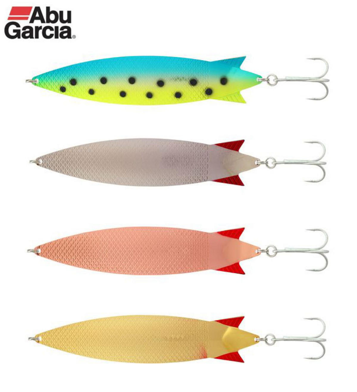 ABU GARCIA SPOON TOBY MAGNUM LURES 60g ALL COLOURS