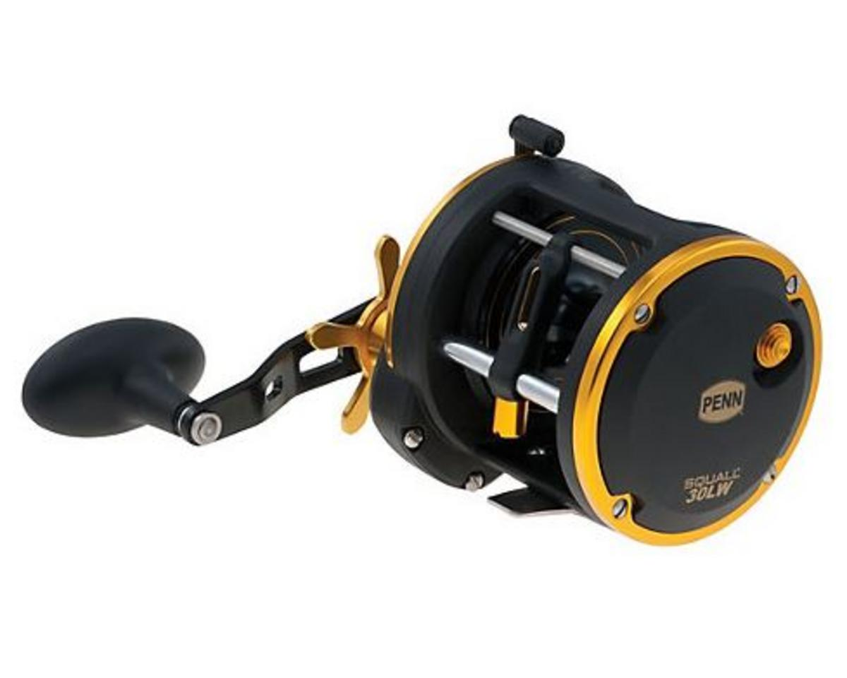 PENN SQUALL 30 LEVEL WIND MULTIPLIER SEA FISHING REEL SQL30LW 1292943