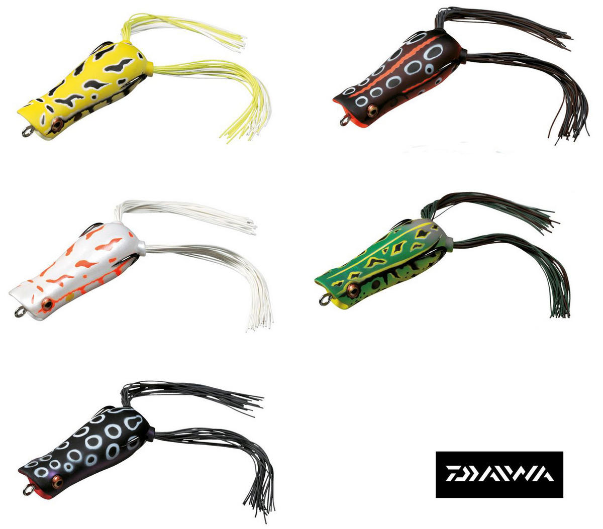 NEW DAIWA POPPER FROG LURES - ALL COLOURS AVAILABLE