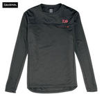 NEW DAIWA JAPAN LONG SLEEVE BASE LAYER T-SHIRT BLACK SIZES MED - XXL