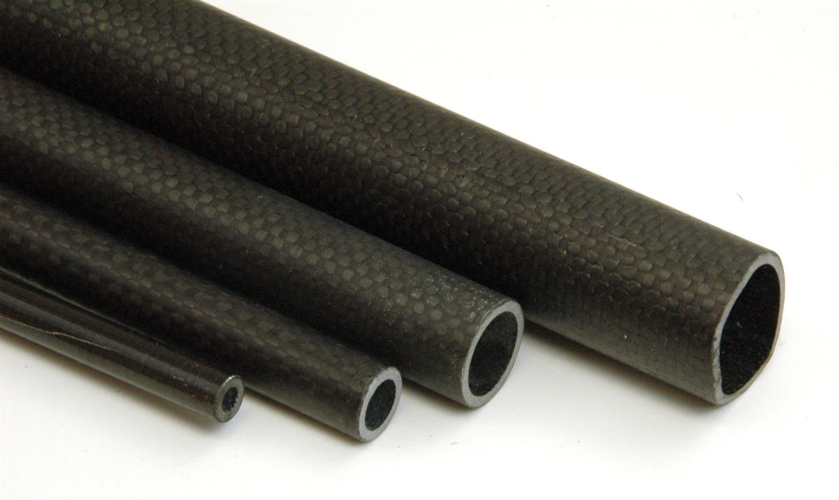 CARBON FIBRE TUBE 6mm,8mm,12.5mm,18mm.25mm,30mm OD 1.8m long