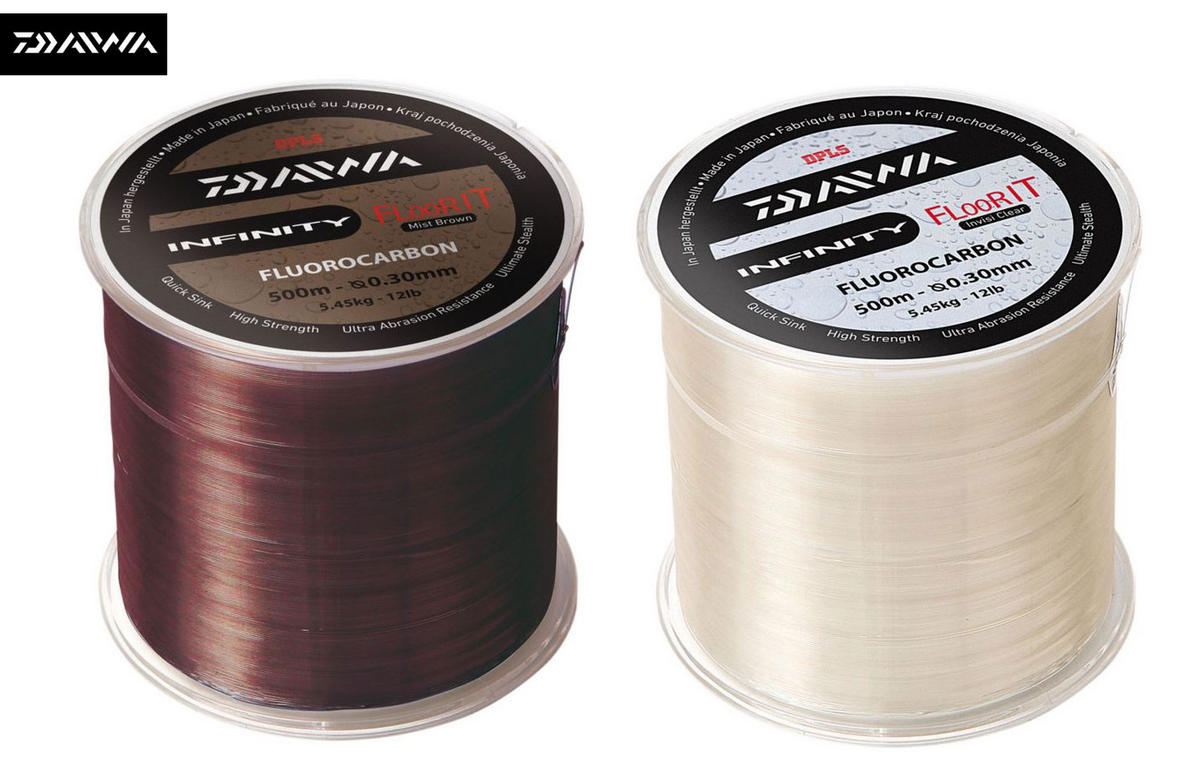 DAIWA INFINITY FLOOR IT FLUOROCARBON LINE 1000M ALL COLOURS AND SIZES