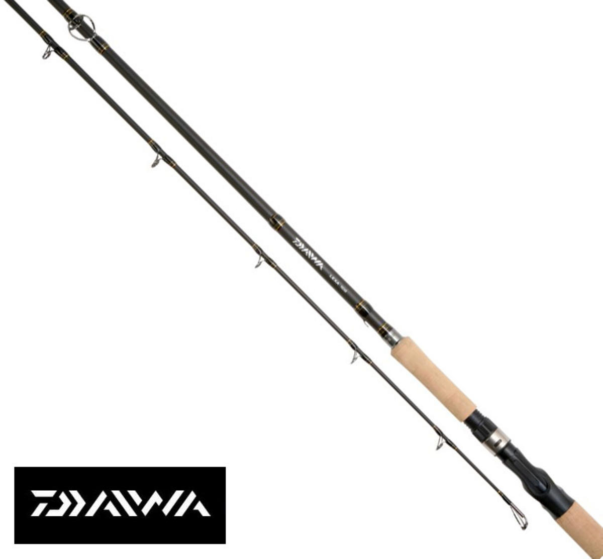 NEW DAIWA LEXA VERTICAL JERKBAIT ROD 6'5' 2PC JERKBAIT 50g LX652MVB-AN