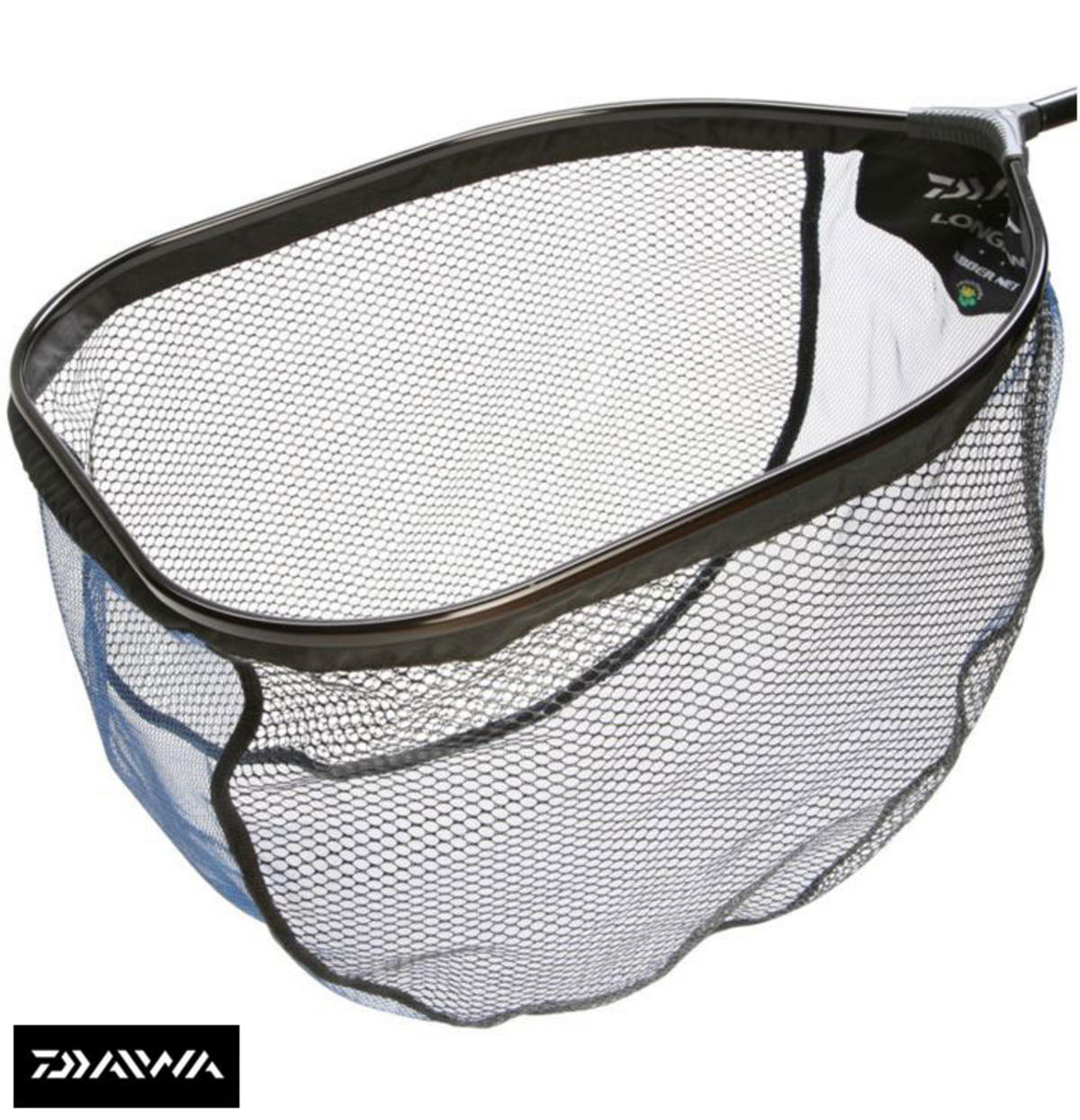 New daiwa longbow f1 rubber landing net head all sizes for Rubber fishing nets