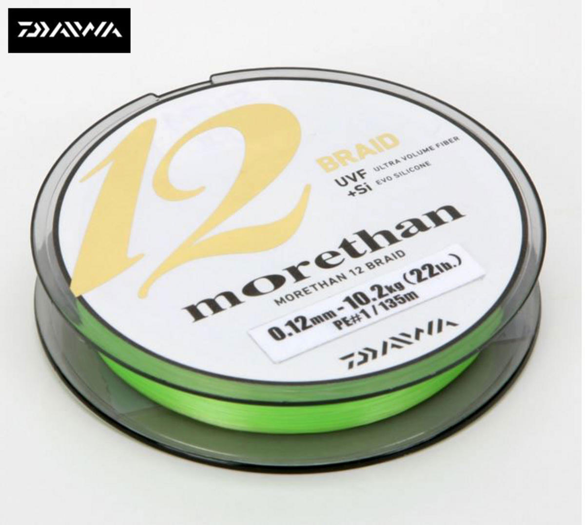 NEW DAIWA MT 12 MORETHAN BRAID 135m SPOOL ALL BREAKING STRAINS