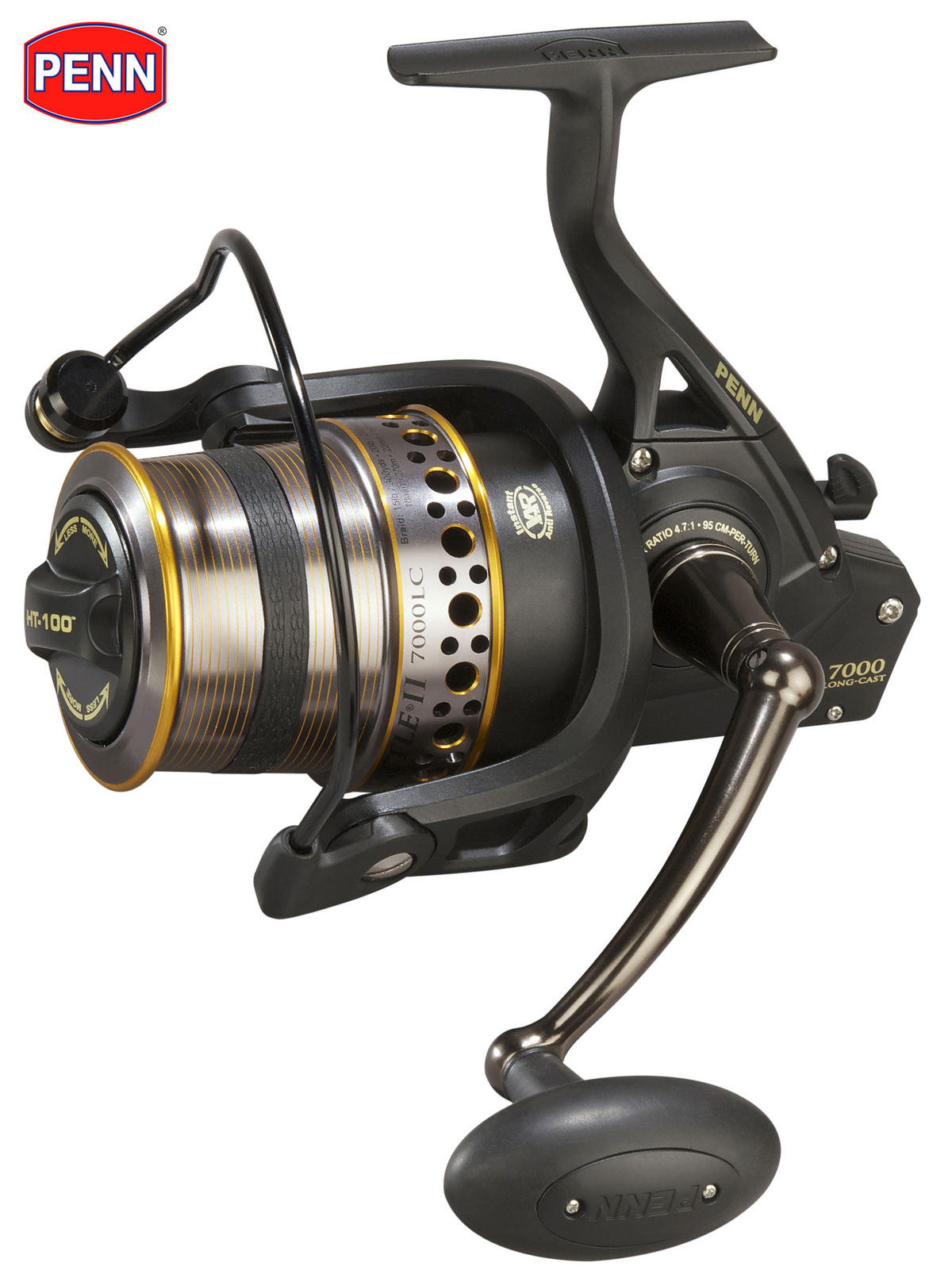 New PENN Battle II 8000 Long Cast Fishing Reel Model No. BTL8000LCEU