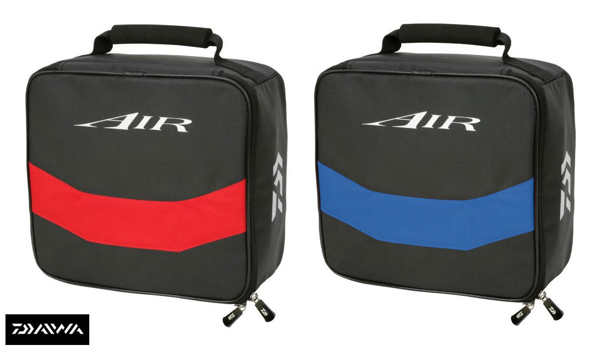 New Daiwa Air Accessory/Reel Case Red/Black or Blue/Black AIRARC