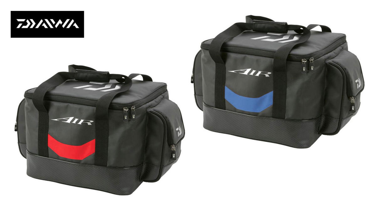 New Daiwa Air Cool Bag Luggage Red/Black or Blue/Black AIRCB