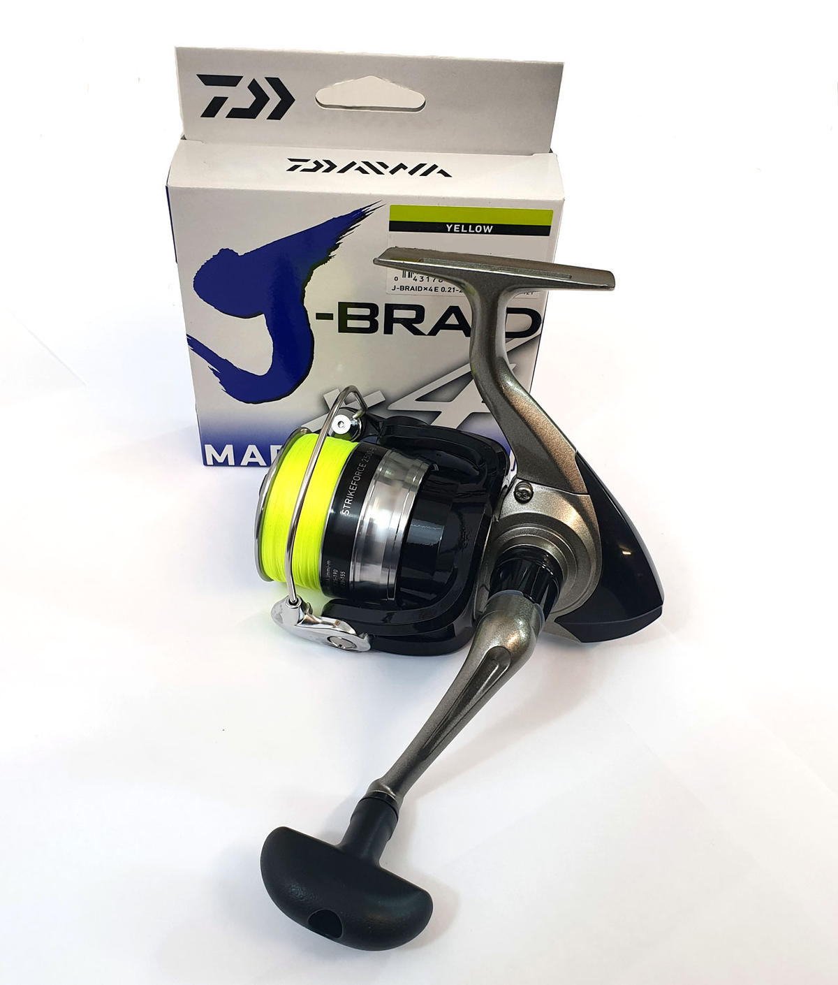Special Offer Daiwa Strikeforce 2500 Spinning Reel Fully Loaded with J-Braid X4