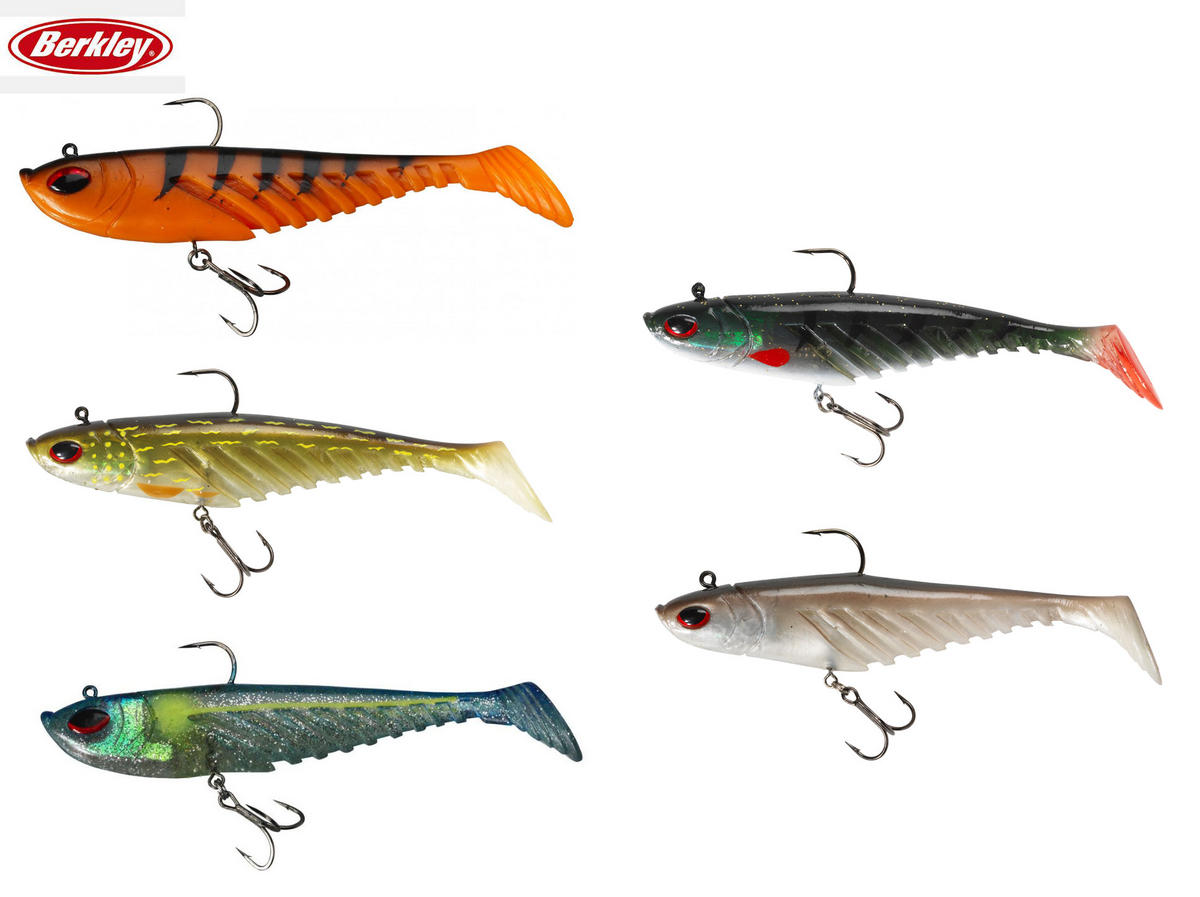 Special Offer Berkley Prerigged Giant Ripple Lures 16cm, 20cm, All Colours