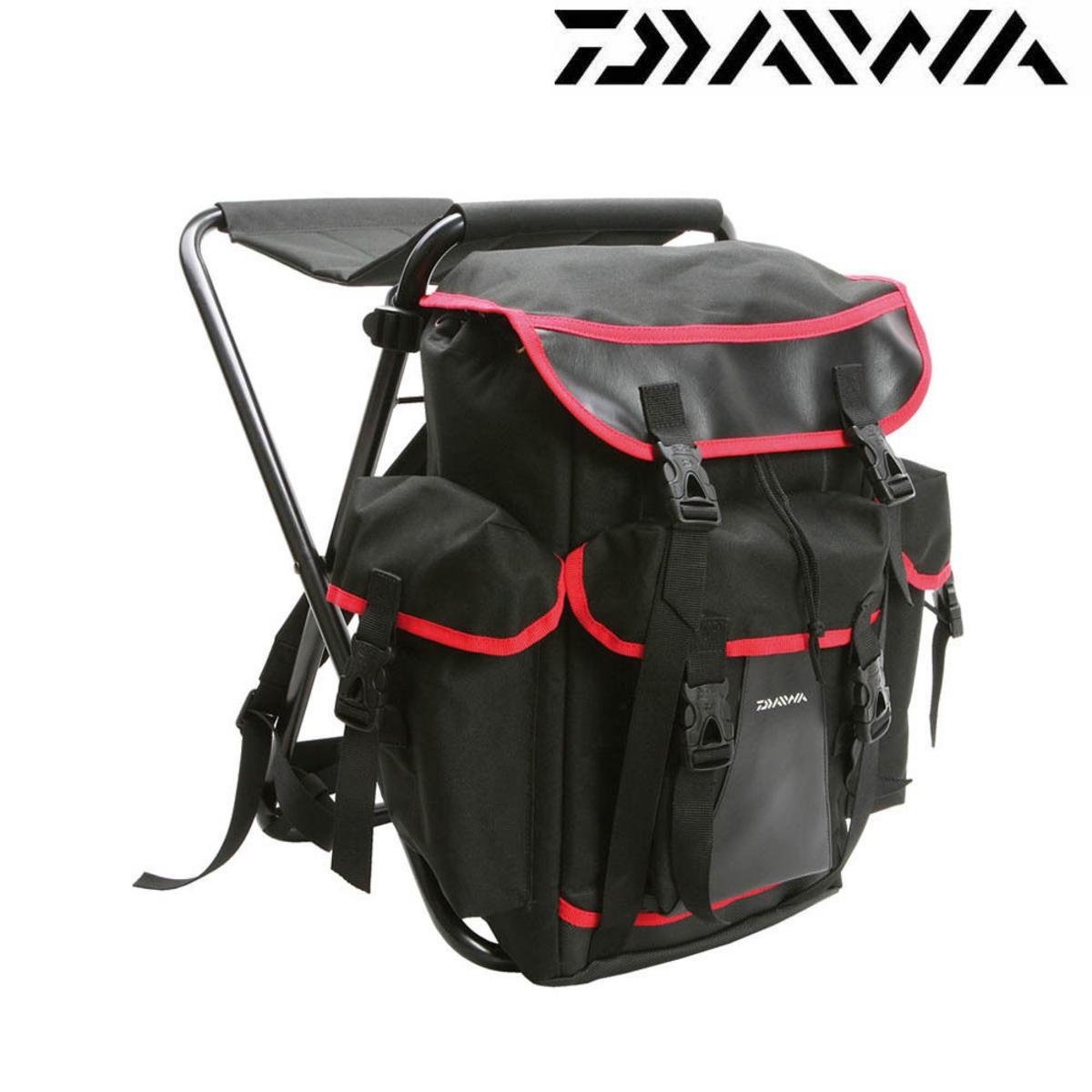 Daiwa Ruck Stool Seat & Rucksack Model No. DRST1