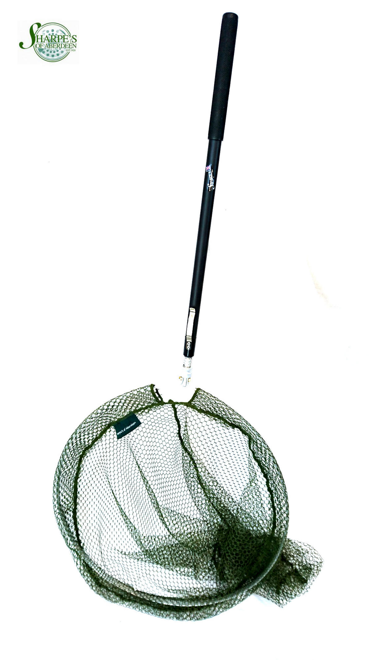 Sharpe's of Aberdeen Belmont SeaTrout Telescopic Landing Net Lakeside Soft Mesh