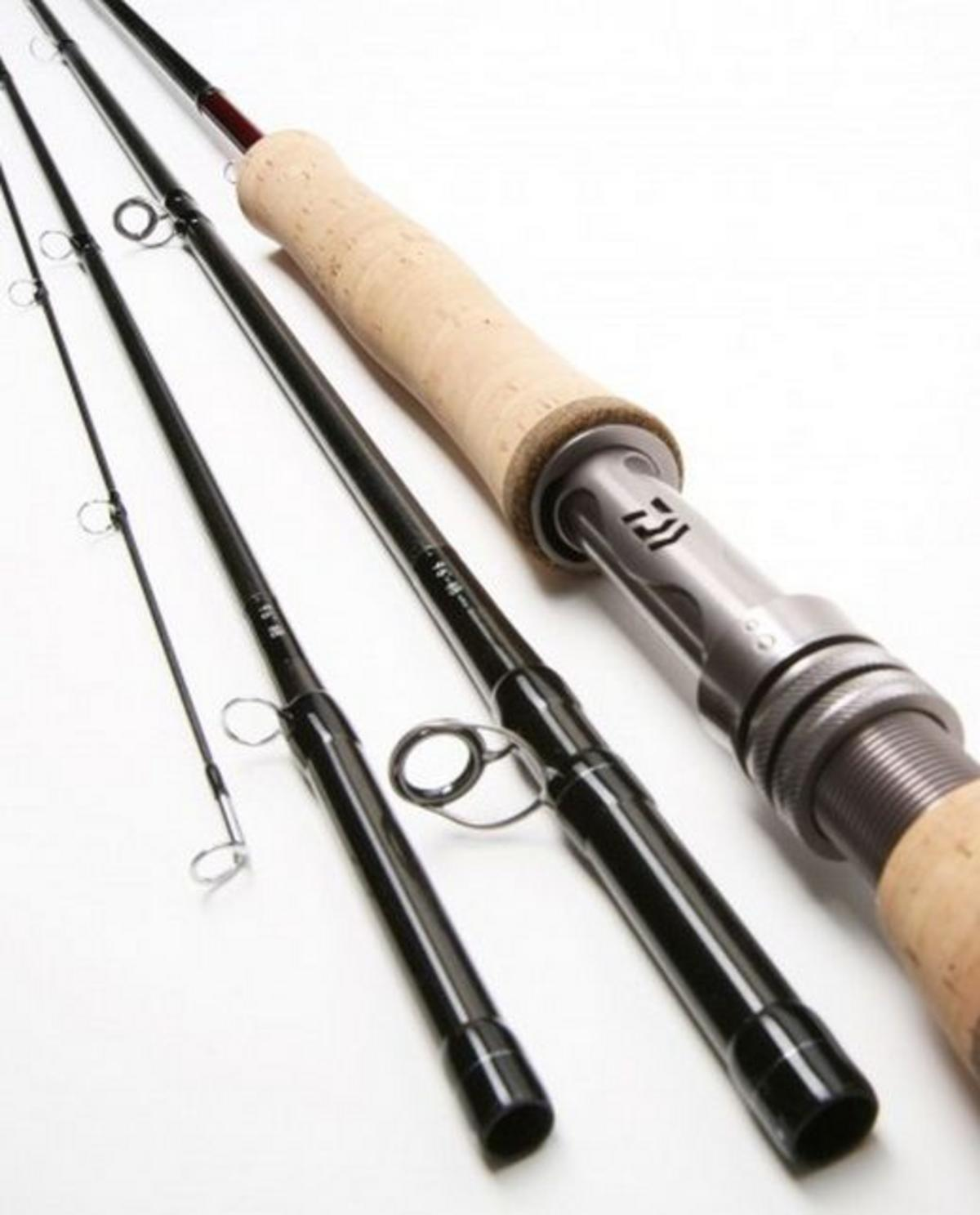 Special clearance daiwa newera trout fly rod neslrf1007 10 for Fishing rod clearance
