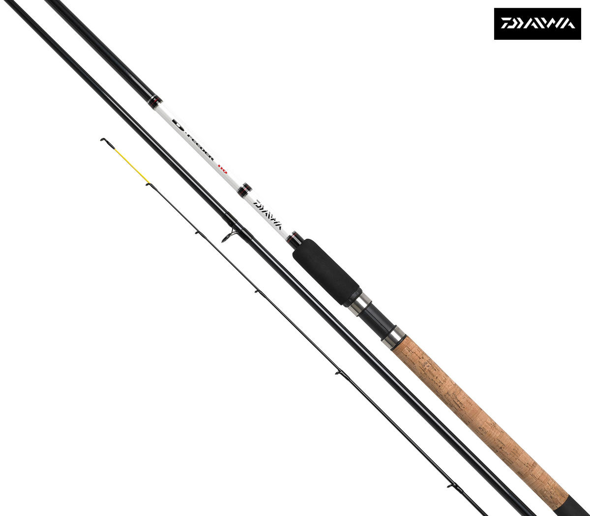 Ex Display Daiwa D-Feeder 11ft / 3pc Coarse Fishing Rod - DF11Q-AU
