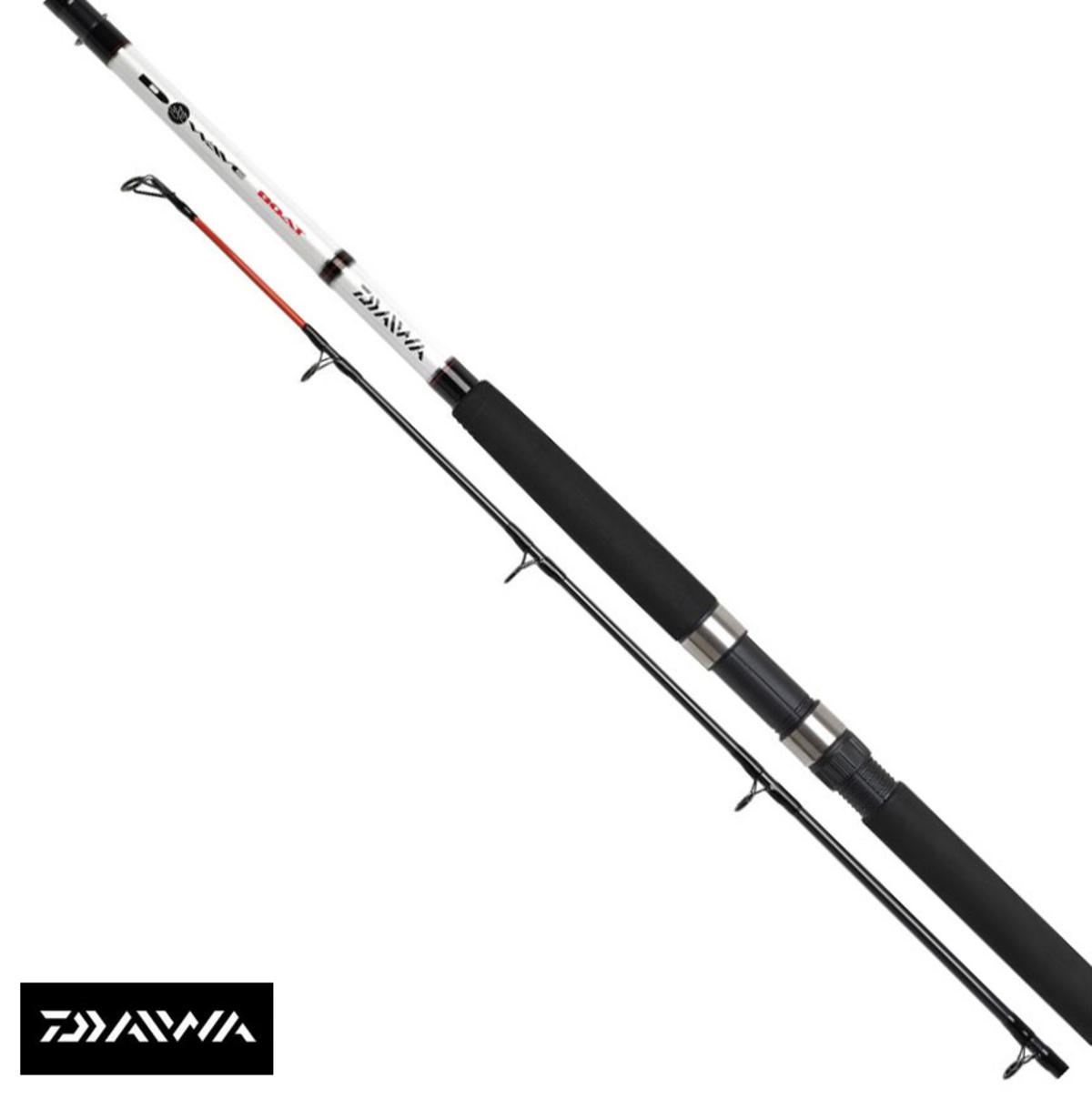 New Daiwa D Wave 7ft 2pc 20-30lb Class Boat Rod Model No. DWB2030-AU