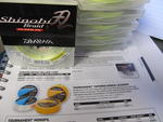 DAIWA CLEARANCE SHINOBI BRAID YELLOW 135 M SNYB15LB  15LB