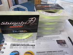 DAIWA CLEARANCE SHINOBI BRAID YELLOW 135M SNYB25LB  25LB