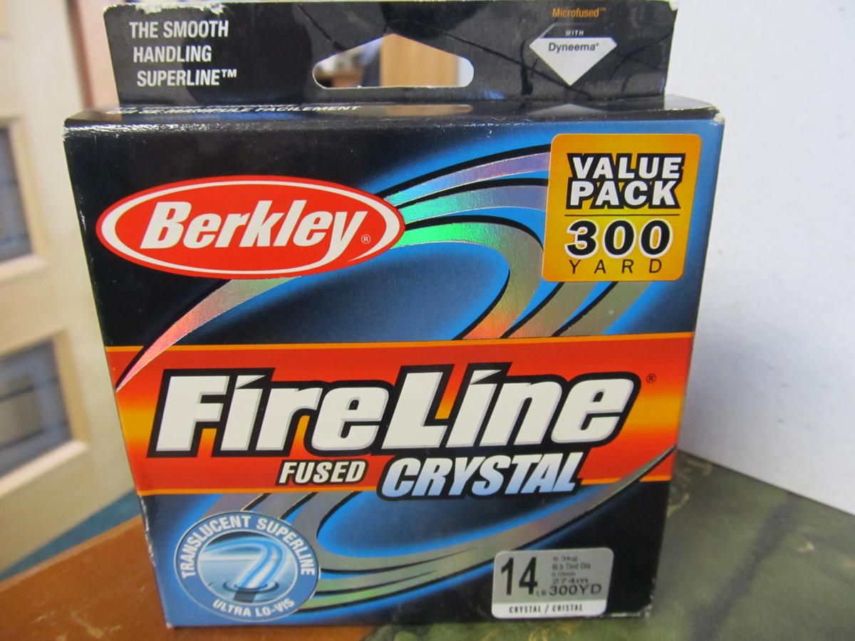 BERKLEY FIRELINE CRYSTAL BRAID FL3014-CY 300YD 14LB CLEARANCE OFFER