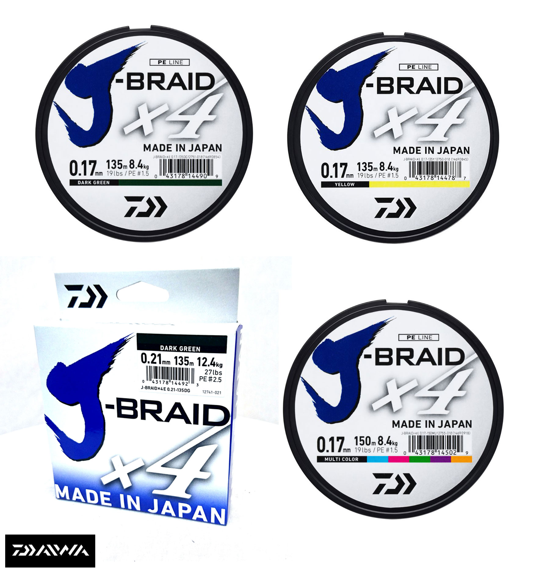 Daiwa J-Braid Fishing Line