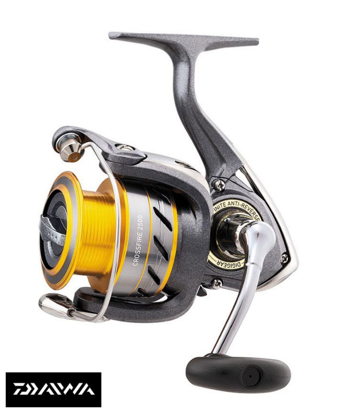 New Daiwa Crossfire Spinning Fishing Reel - All Models 2000 - 5000
