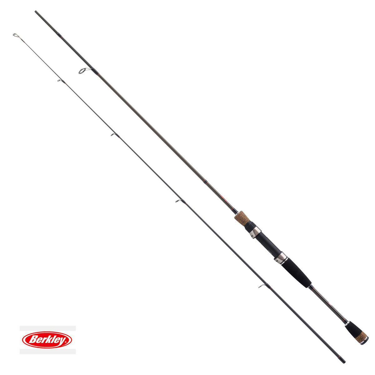 New Berkley FireFlex Spinning Rod 7ft - 8ft 2pc - All Models Available