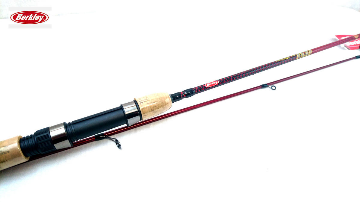 New Berkley Cherrywood HD Trout Spinning Rod 10ft Light 3-18g 2pc 1377028