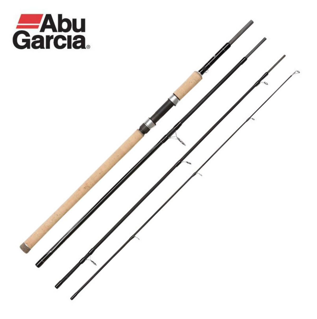 New Abu Garcia Venturi Travel Spinning Rod 9ft ML 10-35g 4pc 1407162