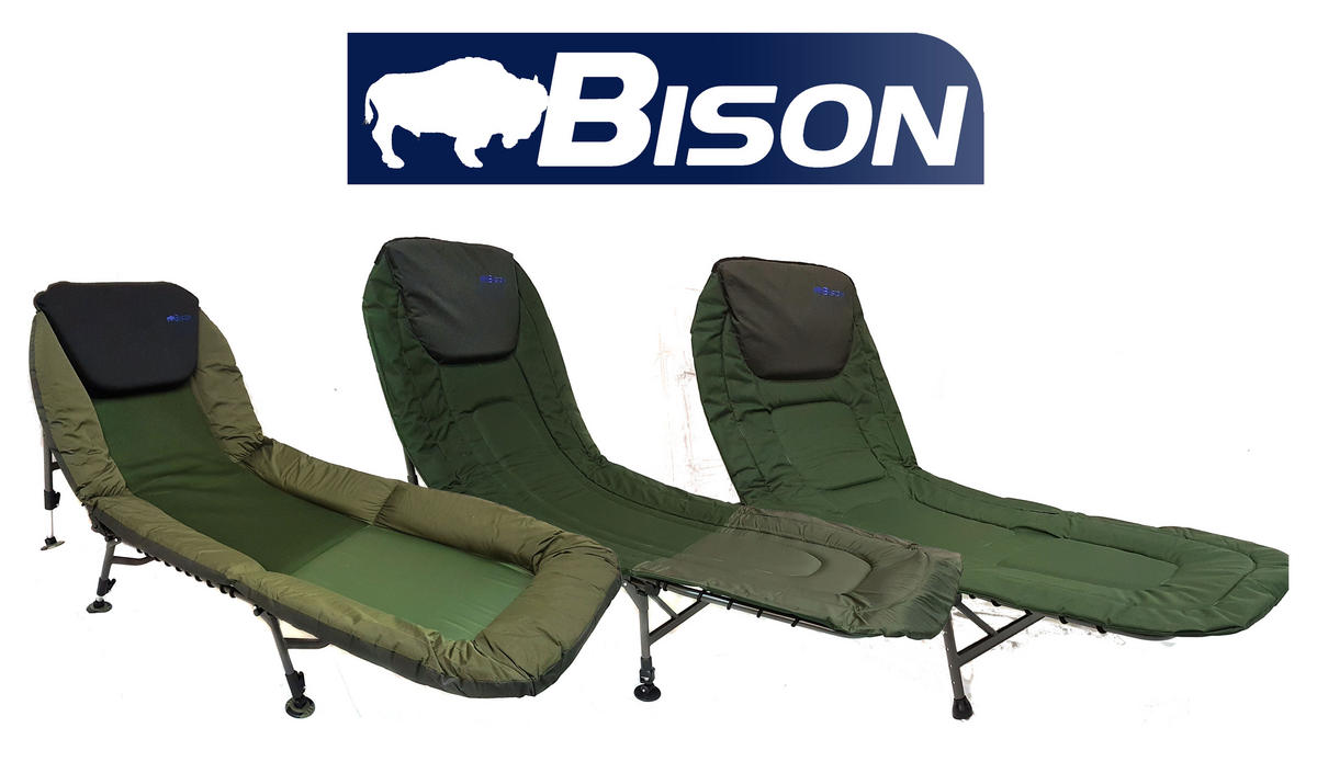 BISON CARP FISHING BED CHAIR BEDCHAIR