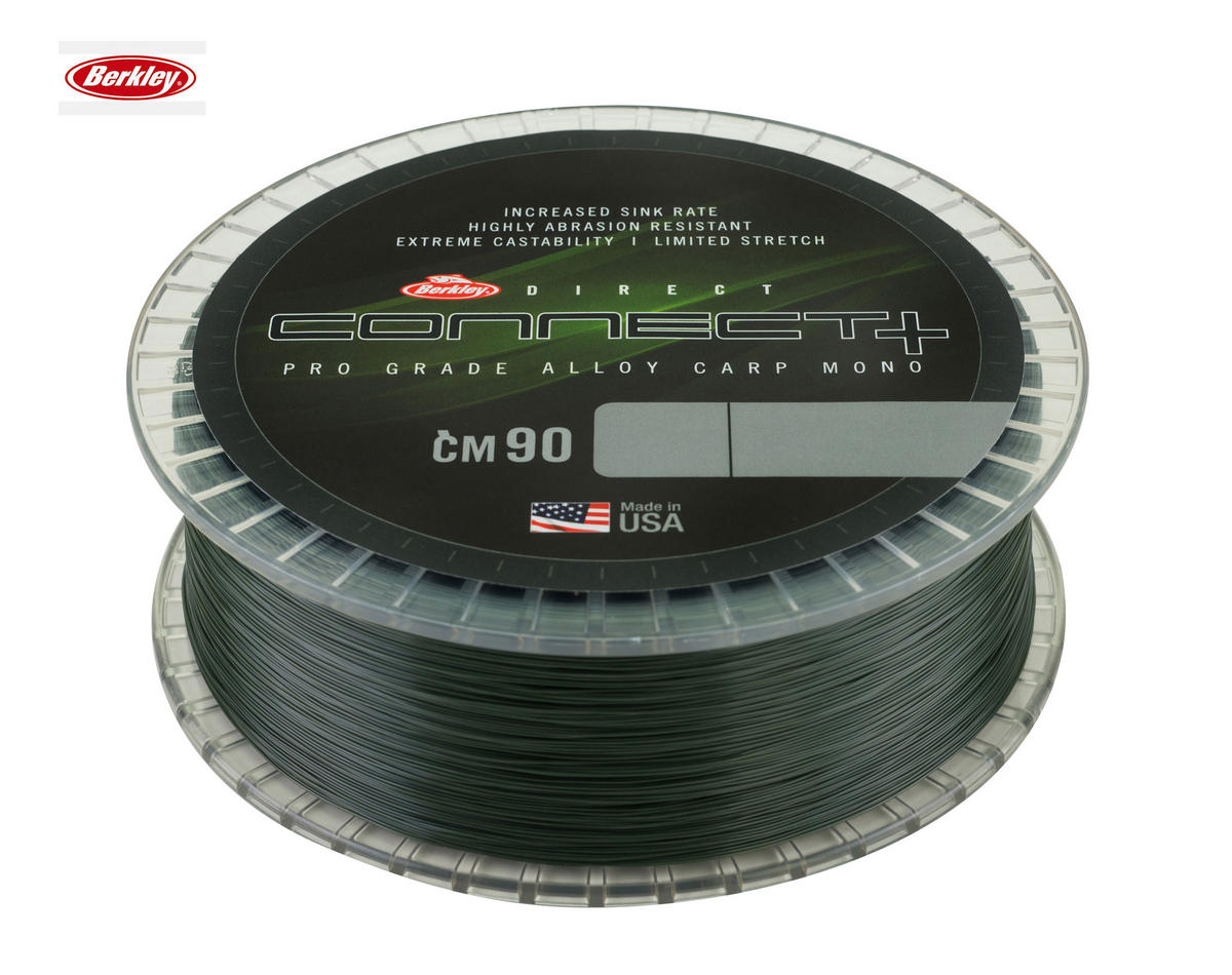 New Berkley Direct Connect CM90 Carp Mono Line 1200m Spools - All B/Strains