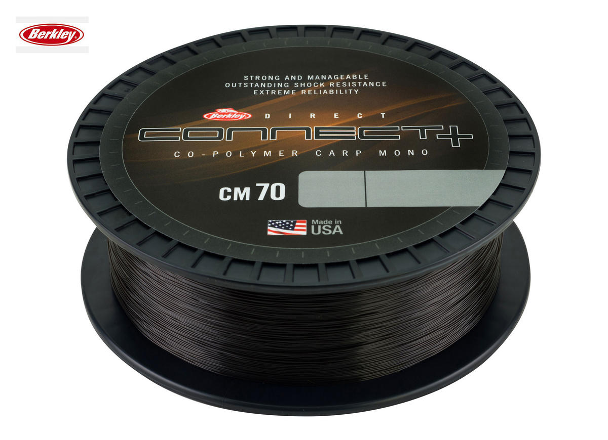 New Berkley Direct Connect CM70 Co-Polymer Mono Line 1000m Spool - All B/Strains