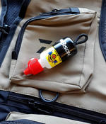 GHERKES GINK DRY FLY FLOATANT COMPLETE WITH BOTTLE HOLDER