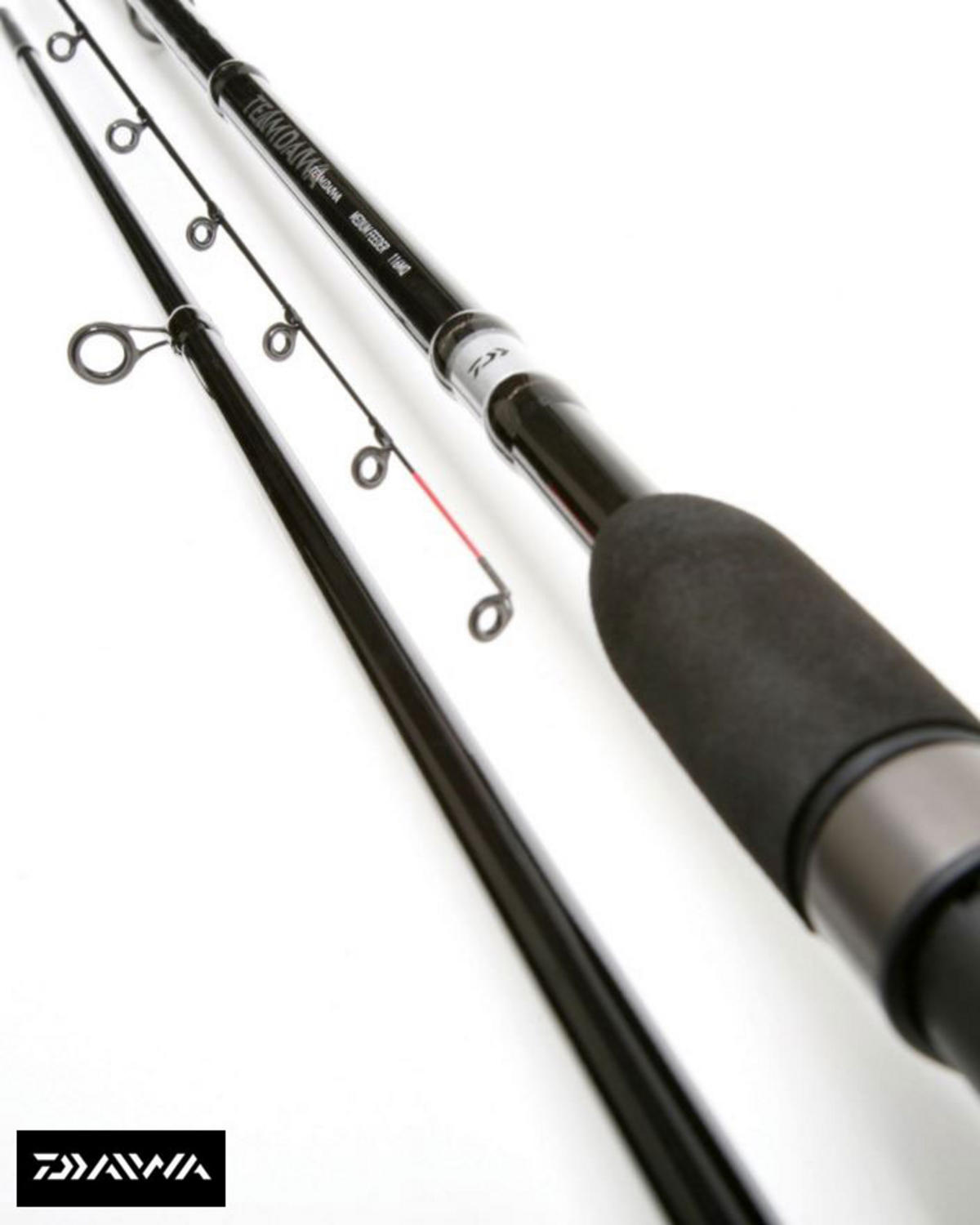 EX DISPLAY TEAM DAIWA FEEDER ROD 11' FEEDER MED QUIVER Model No. TDF11PMQ-AU