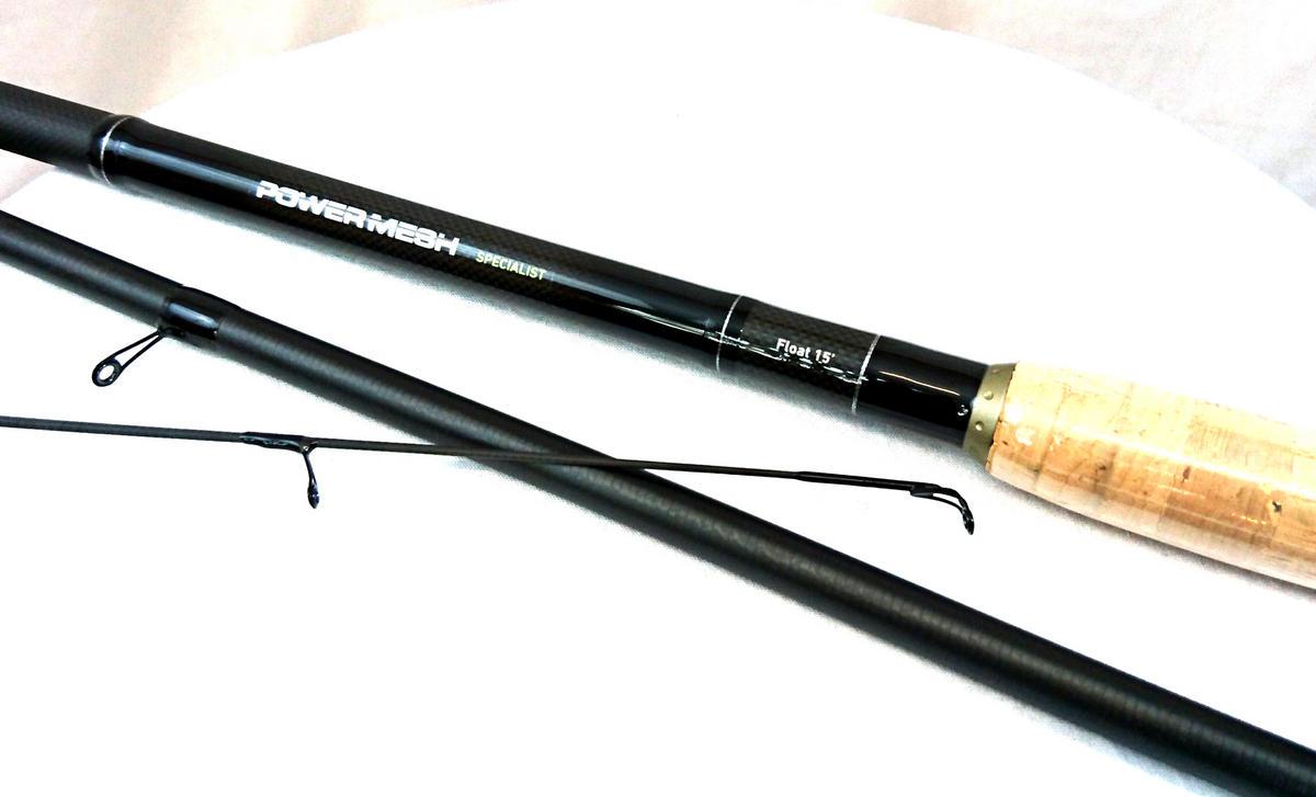 Ex Display Daiwa Powermesh Specialist Rods 15' 3pc Float Model No. PMS15W-AU