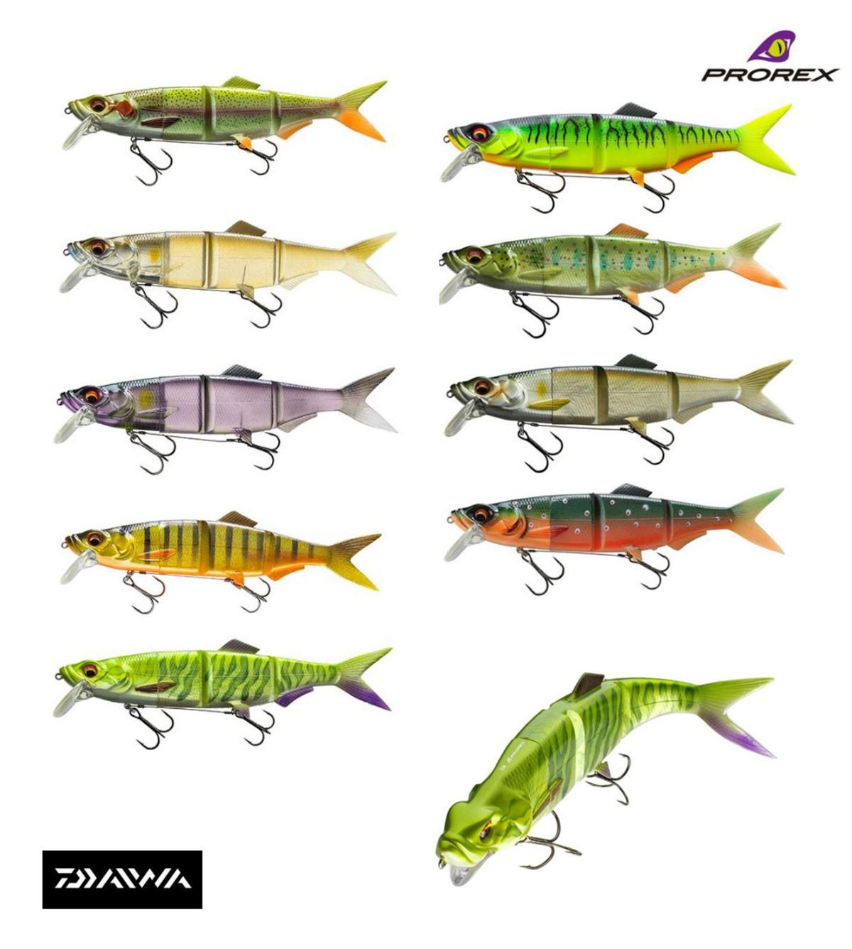 New Daiwa Prorex Hybrid Swimbait Lures 18cm / 25cm All Models - Colours